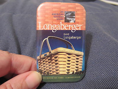 "Longaberger Promoting ""an American Success Story"" Book Collectors Pin Rare"