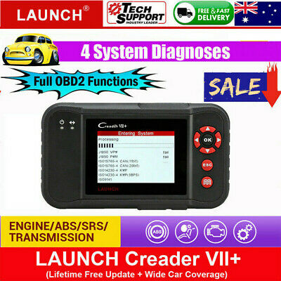 LAUNCH CRP123 ENGINE AT ABS SRS Code Reset Auto Diagnostic Scan Tool OBD2/EOBD