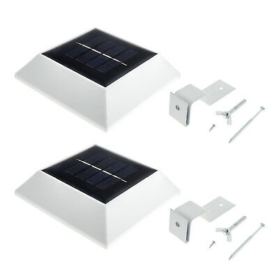 2 stk led solarlampe wegeleuchte 50cm pollerleuchte. Black Bedroom Furniture Sets. Home Design Ideas