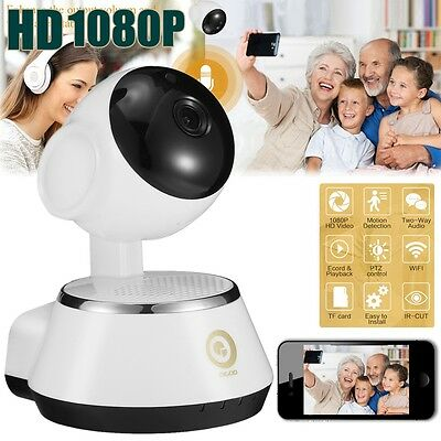 Digoo M1Z FHD 1080P WiFi IP Camera Baby Monitor Night Vision Smart Home Security