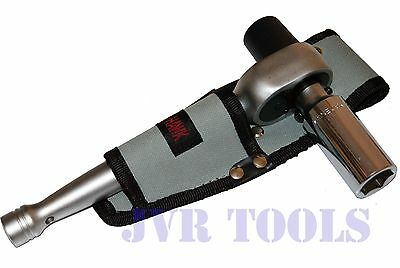 """1/2"""" Scaffold Ratchet With 7/8"""" 6-Point Deep Well Socket W/ Tool Pouch Holder"""