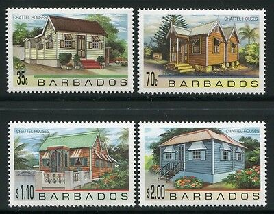 BARBADOS 1996 Architektur Eigenheime Architecture Houses 902-905 ** MNH