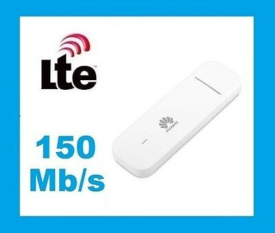 Huawei E3372 Mobile Broadband 4G LTE Dongle Modem Device. Unlocked. All networks