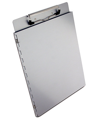 Saunders Recycled Aluminum Portfolio Clipboard with Privacy Cover - Letter Size