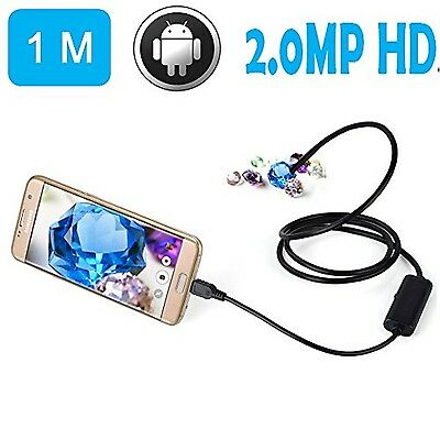 BlueFire USB Borescope HD 720P 2MP Waterproof Endoscope Snake Inspection Came...