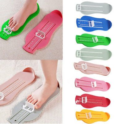 Baby Toddler Accurate Foot Measure Gauge Infant Shoes Size Measuring Ruler Tool