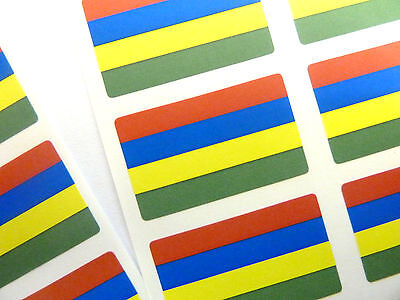 Mini Sticker Pack Self-Adhesive Mongolia Flag Labels FR185