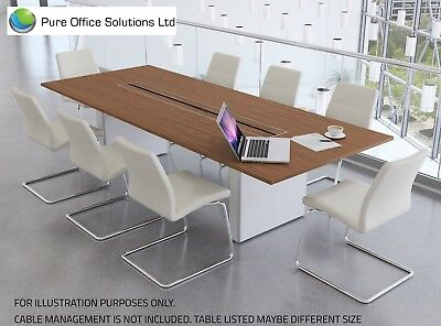 SVEN - Rectangular Conference, Boardroom, Meeting Table - 3000 x 1200 - Seat 10