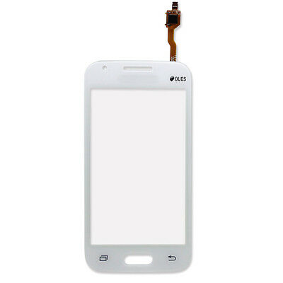 Samsung Galaxy Ace 4 LTE G313 313F Duos White Front Touch Screen Digitizer Glass