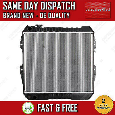 Manual Radiator For Toyota Hilux V Pick Up / Vw Taro Pickup 2.4 D 4Wd 1992>1997