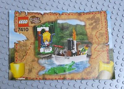 LEGO INSTRUCTIONS MANUAL BOOK ONLY 7410 Jungle River  x1PC