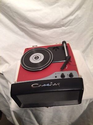 Vintage Crosley portable record player