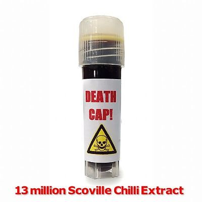 13 Million Scoville Chilli Extract - Death Cap - Chilli Wizards