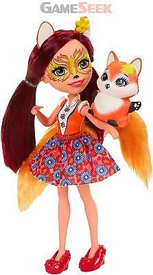 Enchantimals Dvh89 Felicity Fox Doll - Toys Brand New Free Delivery