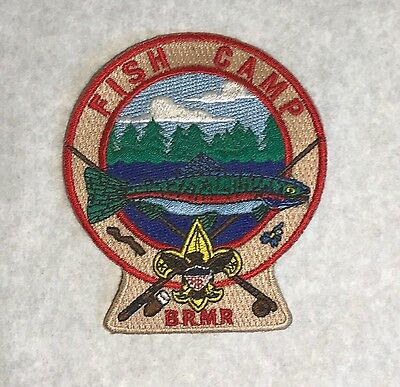 Blue Ridge Scout Reservation Fish Camp Patch