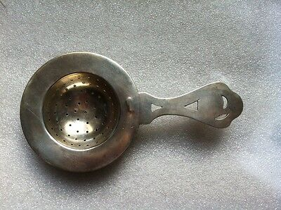 ANTIQUE RUSSIAN SILVER TEA STRAINER MARKED 84 И.Ф 1863-1897 years