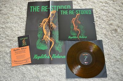 "THE RE-STONED ""Reptiles Return"" ""DIE HARD edition"" 100 cop. incl patch & poster"
