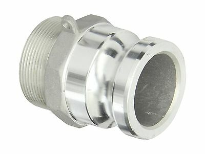 "Dixon G200-F-AL Aluminum A380 Global Type F Cam and Groove Hose Fitting 2"" Pl..."