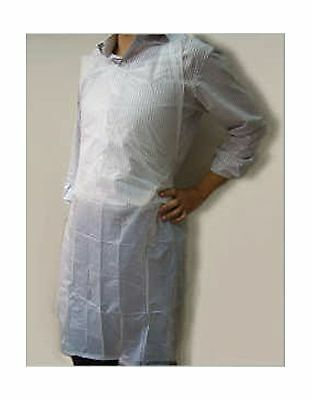 Gmark Industrial Lightweight Poly Apron 100 ct Individual Wrapped Disposable NEW