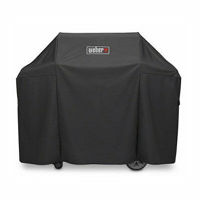 Weber 7130 GRILL COVER WITH STORAGE BAG FOR GENESIS II & GENESIS II LX 300 GRILL