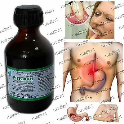 Rotokan Mouthwash 50 ml periodontitis, stomatitis, chronic enteritis and colitis