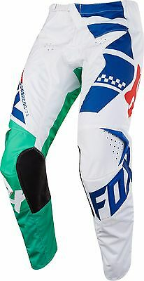 NEW 2018 FOX Racing MX Motocross Youth 180 SAYAK Pants Green Size 22