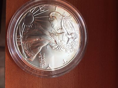 BU 1994 American Silver Eagle Uncirculated .999 Fine Silver Dollar 1 oz (72117)