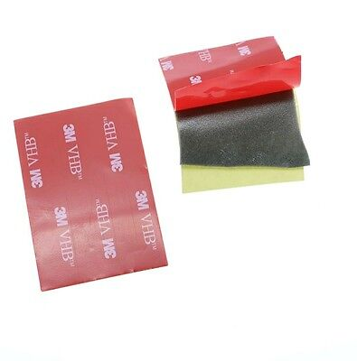 5pcs 3M Black Tape Double Sided Foam Pad 40x60mm Strong Adhesive Force, Assembly