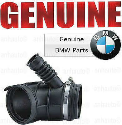 For BMW E39 530i Fuel Injection Air Mass Flow Meter Boot Genuine 13 54 7 505 838