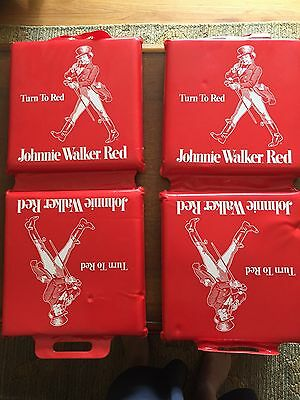 Johnnie Walker Red Stadium Seat Cushions Set of 2 for $19.00