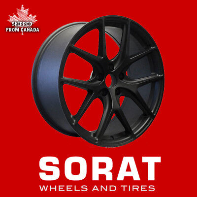 "20""  BMW X5 X6 VOSSEN REPLICA RIMS WHEELS 20x9.5 20x10.5 BLACK SPLITZ SHIPPED!"