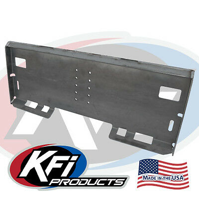Kfi Attachment Mount Plate Skidsteer Bobcat Skid Steer #110050