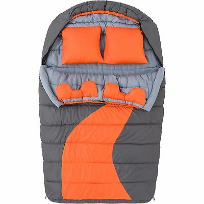 Ozark Trail 20F degree Cold Weather Double Mummy Sleeping Bag Camping New