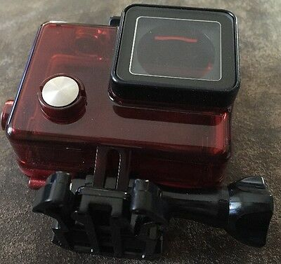 Red Clear Housing Case for GoPro Camera T14