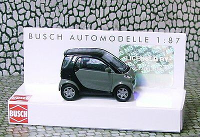 1/87 SMART CAR - HO SCALE plastic model by BUSCH #489100-80