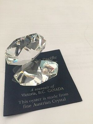 Austrian Crystal Oyster Figurine Collectable*