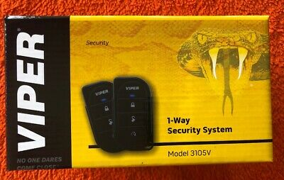 Viper Alarm Mobile 1 Way Car Security System Keyless Entry 3105V