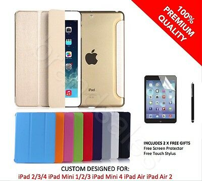 iPad Ultra Slim Fit Custom Case for iPad 234 Mini 123 Mini 4 Air Air 2 AU