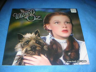 Day Dream Wizard of Oz Dorothy & Toto 2005 Sealed 16 Month Calendar NIP HTF