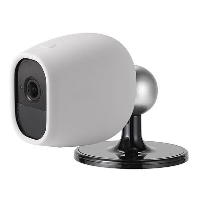 Indoor/Outdoor Camera Wall Holder+Protective Silicone Skin Case For Arlo Pro 2