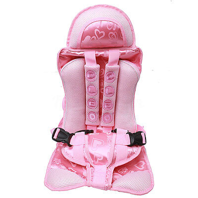 Pink Baby Car Seat Infant Toddler Safety Booster Chair Kids Safety Travel USA m