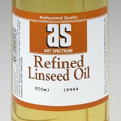 Art Spectrum Refined Linseed Oil - 500ml/1L