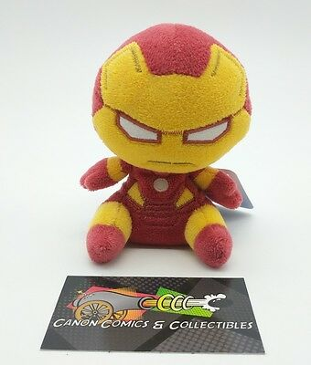 Funko Mopeez Plush Marvel Comics Iron Man 1st Series Authentic New with Tags