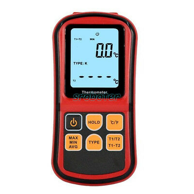 Thermocouple Thermometer Measure the thermocouple of J,K,T,E,N and R type sr