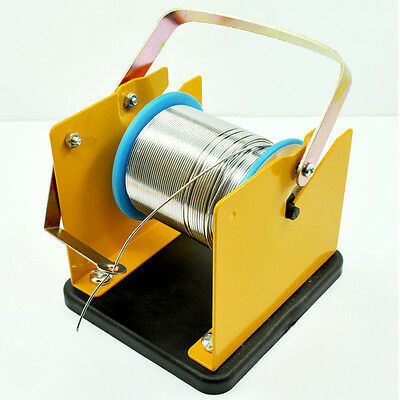 Solder Wire Holder Soldering Reel Dispenser Stand Tin Management Spool Feeder