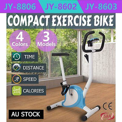 EXERCISE BIKE SPIN FLYWHEEL HOME FITNESS GYM LCD Screen MONITOR HEAVY DUTY IN