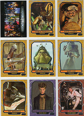 Star Wars - Galactic Files - Series 2 - Complete Card Set (350) TOPPS 2013 - NM