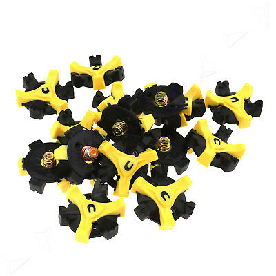 15PCS Golf Shoe Spikes Replacement Champ Cleat Fast Twist  Screw For Footjoy