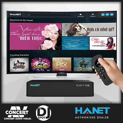 VIETNAMESE KARAOKE PLAYER - HANET PLAYXONE 2TB - BEST PLAYER 30,000 songs!