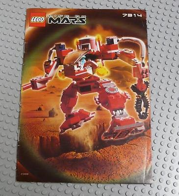 LEGO INSTRUCTIONS MANUAL BOOK ONLY 7314 Recon-Mech RP x1PC